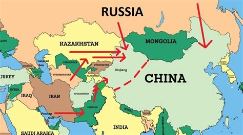 maps russia china turkey russia and china in central asia iakovos alhadeff