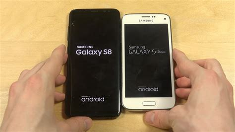 Samsung Galaxy S8 Dan S5 samsung galaxy s8 vs samsung galaxy s5 mini which is faster