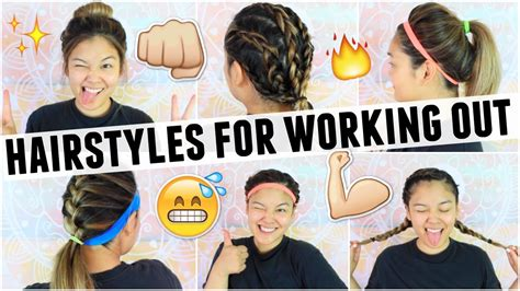 Hairstyles For Working Out by Easy Hairstyles For Working Out Class Jaaackjack