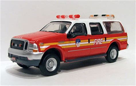die cast fire apparatus command vehicles, american
