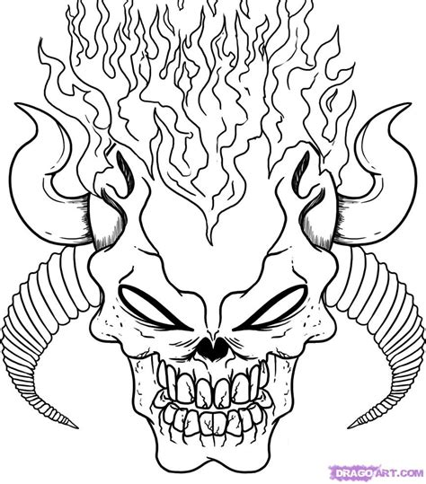 coloring pages for adults skulls scary coloring pages for adults skulls coloring pages