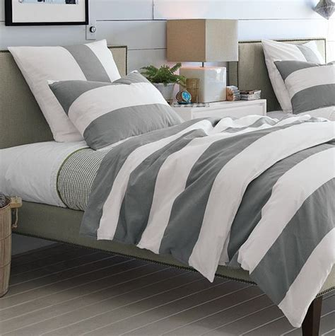 stripe bedding west elm striped bedding look 4 less