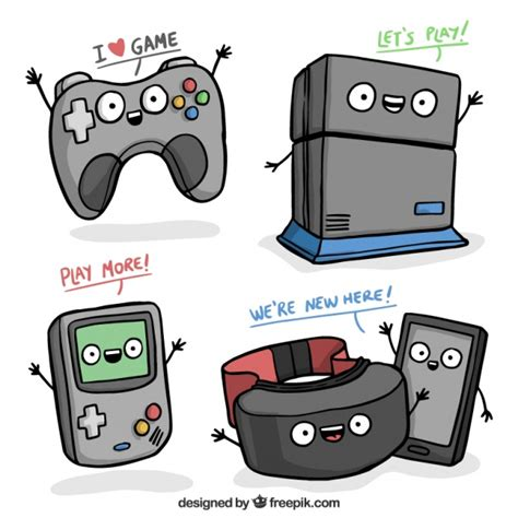 free console consoles vector free