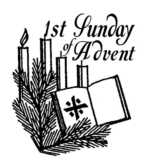 First sunday of advent clipart third sunday of advent coloring pages