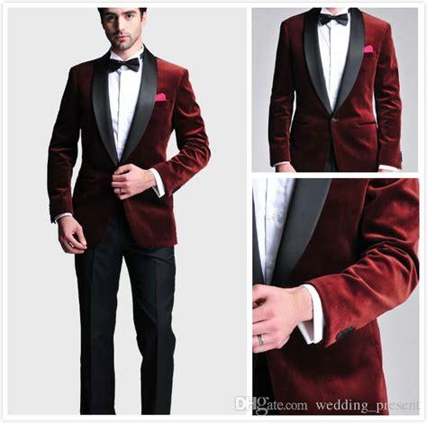 Jaket Prematch Juventus Blue 2017 Premium Quality Grade Ori Go burgundy velvet slim fit 2016 groom tuxedos wedding suits custom made groomsmen best prom