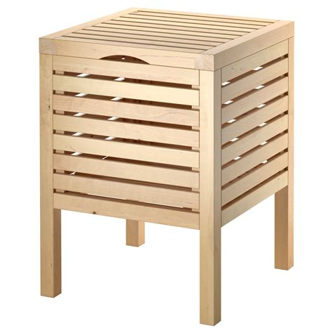 storage stools and benches bathroom molger shelf unit birch ikea of shelf unit