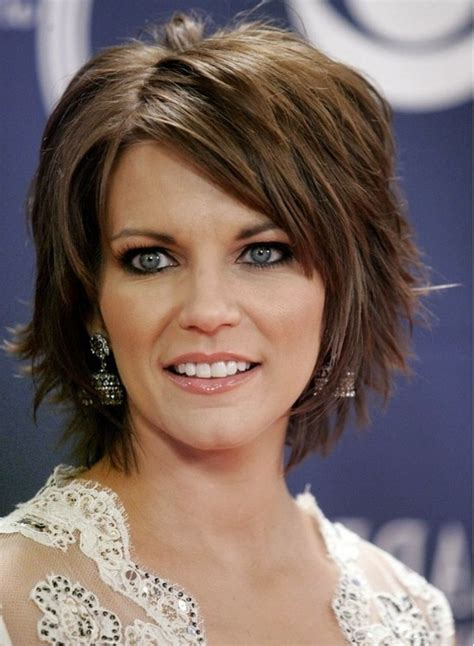 layered short haircuts for women with height on top short layered bob hairstyle pictures gallery of layered