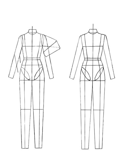 technical drawing templates figurine for technical drawing learning sewing
