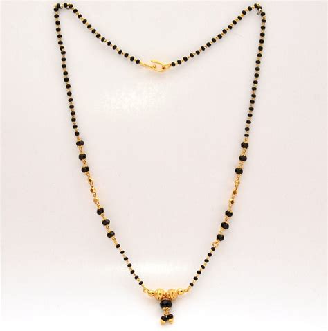 black bead chains in gold the gallery for gt gold chain with black designs