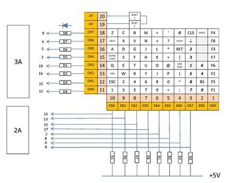 puter keyboard wiring diagram keyboard free