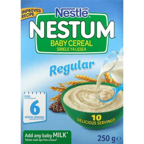 Nestum Cereal nestle nestum baby cereal regular 250g clicks