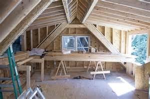 shed dormer framing for driveway side bedroom biddulph