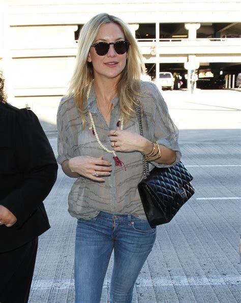 Kate Hudsons Chanel Purse by Kate Hudson In Lax Airport In Los Angeles January