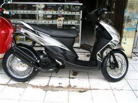 Lu Alis Mio Sporty Sparepart Motor Modification Custom Drag Matic Low