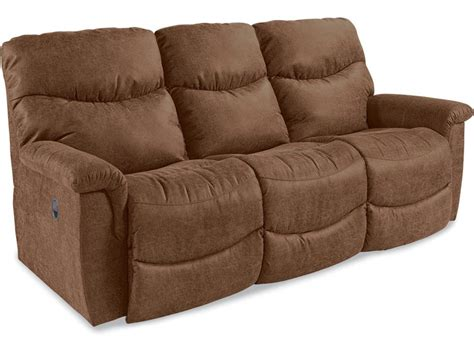 La Z Boy Reclining Sofa by La Z Boy Living Room Reclining Sofa 440521 Hickory