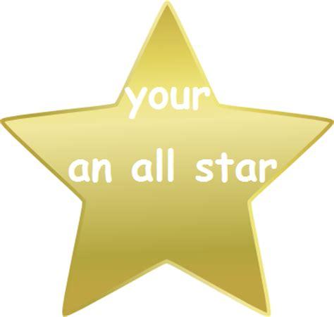 you succeeded gold star | www.pixshark.com images