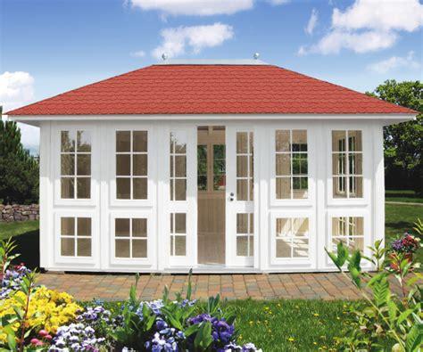 wetterfeste pavillons garten gartenpavillon chalet geschlossenes gartenhaus riwo