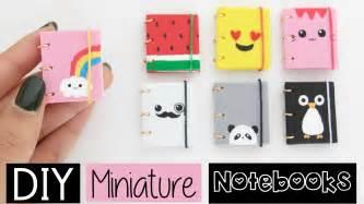 diy mini notebooks four easy amp cute designs