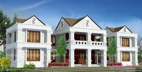 arabic style house plan  india kerala home design  floor plans
