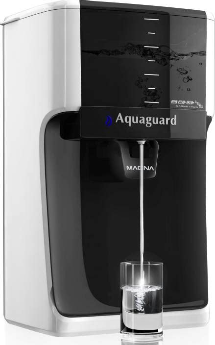 of uv l in water purifier aquaguard magna hd ro uv 7 l ro uv water purifier