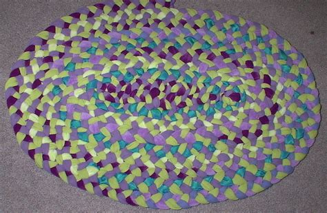 rugs from recycled materials braided rag rug from recycled scrap materials 183 a mat rug 183 version by scentsyvt