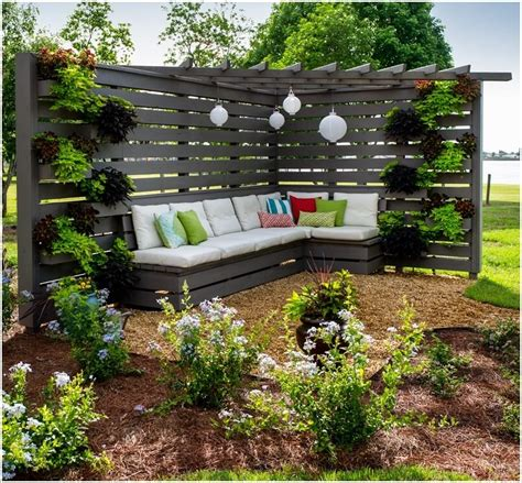 how to create backyard privacy building your own privacy fence outdoor privacy