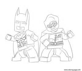 Lego Robin Coloring Pages batman and robin lego coloring pages printable