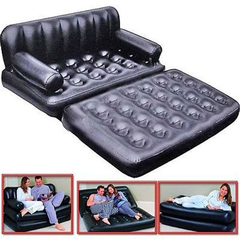 5 in 1 inflatable sofa bed 5 in 1 inflatable double sofa airbed mattress couch