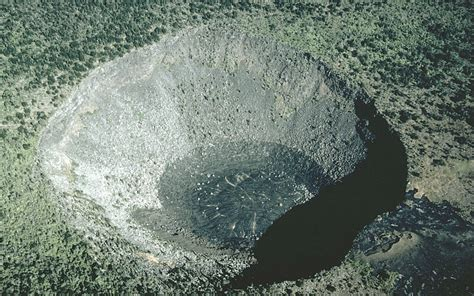 A Pit Vhp Photo Glossary Pit Crater