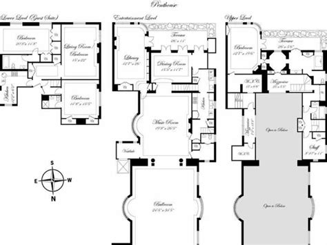 new york apartment floor plan tour fashion police joan rivers new york penthouse apartment