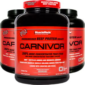 Suplemen Whey Carnivor musclemeds carnivor at bodybuilding best prices for