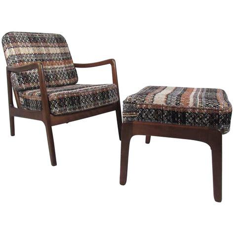 Mid Century Modern Ottoman Mid Century Modern Ole Wanscher Lounge Chair With Ottoman By Vulcanlyric