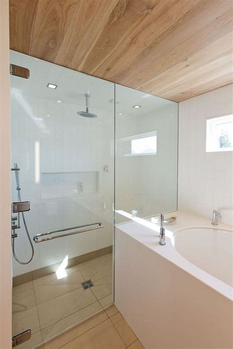 bathtub in shower 12 design ideas for including built in shelving in your