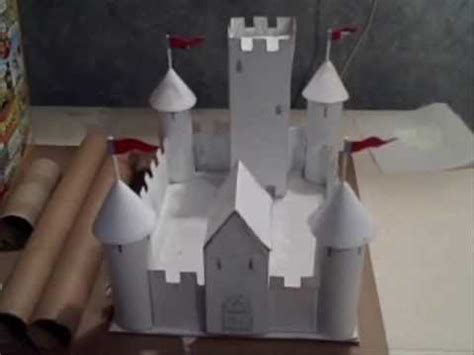 How To Make A Paper Castle Easy - make a paper and cardboard castle
