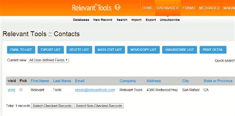 Ca State Advanced Search Relevant Tools Target Your List With Advanced Database