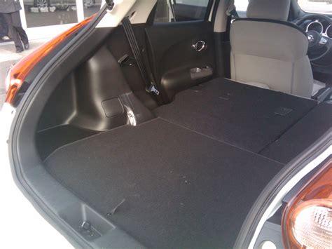 nissan juke interior trunk juke trunk marketing mayhem