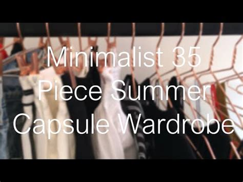No More Newsvine Fashion by No More Clothes 35 Pieces My Minimalist Summer
