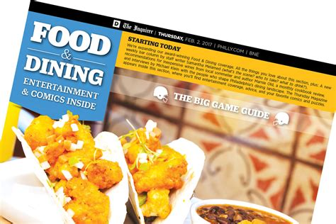 philadelphia inquirer food section our food section now supersized philly