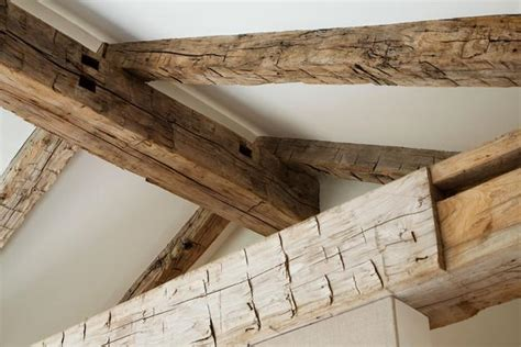 rustic wood ceiling beams rustic reclaimed wood highlights charming character of