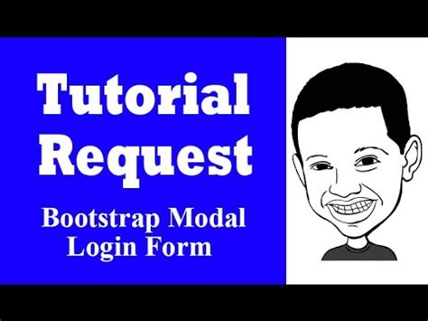 bootstrap tutorial series tutorial request series bootstrap modal login form