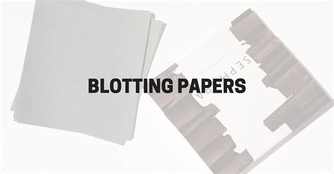 Blot Lipstick Papers by Blotting Papers Two And Some Lipstick
