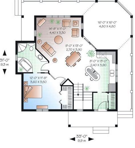 como hacer el plano de una casa planos de casas en pendientes pronunciadas
