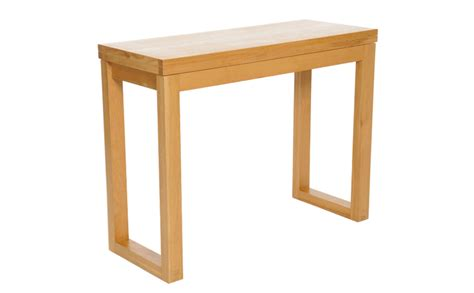 oak console table oak console table