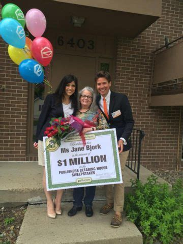 Who Wins Publishers Clearing House - follow up with 1 million winner jane bjork pch blog