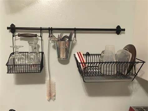 dish hanging rack letgo ikea hanging dish rack in lemon grove ca