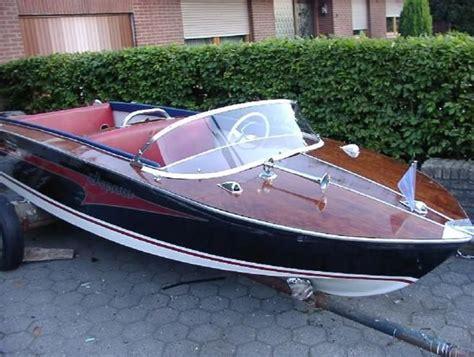kleine speedboot wolfrat sportcraft 1958 1959 wooden speedboat catawiki