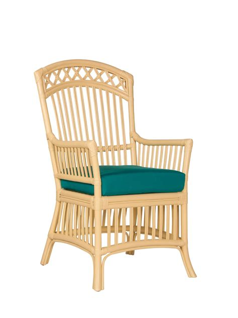 wicker dining room chairs with arms castine wicker dining arm chair cottage home 174