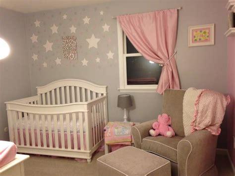 Themed Bedroom Ideas chambre b 233 b 233 fille en gris et rose 27 belles id 233 es 224