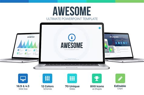 awesome presentation templates awesome powerpoint template presentation templates on