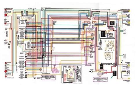 "1967 81 firebird laminated color wiring diagram 11"" x 17"""